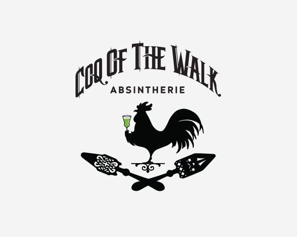 Coq of the Walk | Absintherie